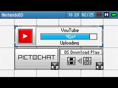 Youtube in Nintendo DSi