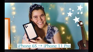 iPhone 6s to iPhone 11 pro unboxing