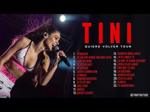 TINI - Quiero Volver Tour (CD + LINK DE DESCARGA)