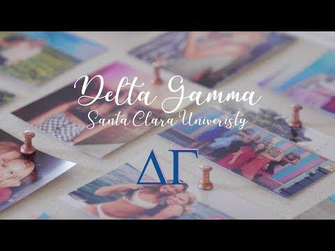 Santa Clara University Delta Gamma Recruitment 2018