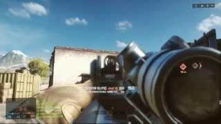 BattleField 4 // Test de la mire déporté pour les Sniper. By INFINITYz M0Dz (Xbox One)