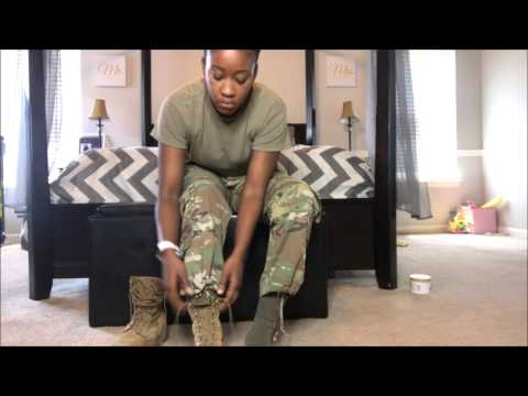 GRWM:Watch Me Get Dressed From Head Toe! | Current US Army Uniform