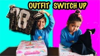KIYAFET CHALLENGE | Mystery Box of Outfit Switch-Up Challenge !! #MysteryBox #Switchup #Challenge