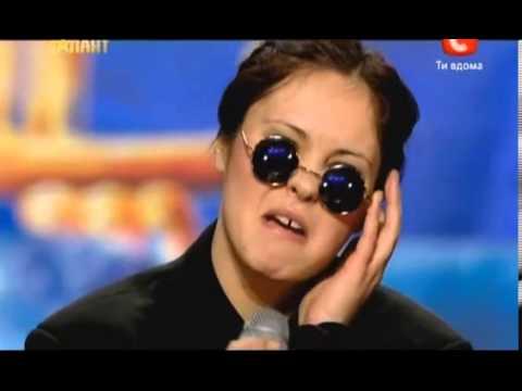 Смешные участники проекта Україна має талант (Видео