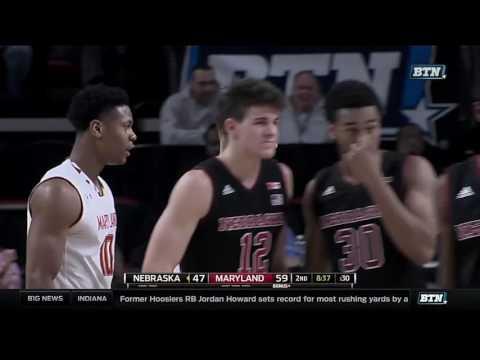 Nebraska at Maryland - Men's Basketball Highlights