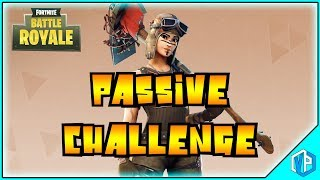 Fortnite - PASSIVE CHALLENGE Gameplay sans attaques!