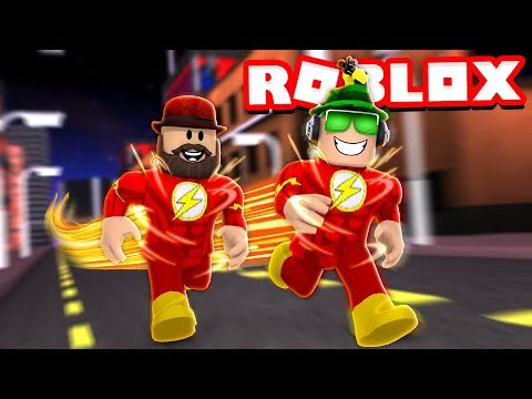 BEING THE FLASH in ROBLOX / HAVING SUPER SPEED IS AWESOME!!!