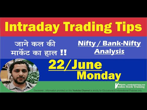 Intraday Best Stocks for 22 Jun | Free Intraday Trading Tips | Nifty & Bank Nifty Analysis & Tips