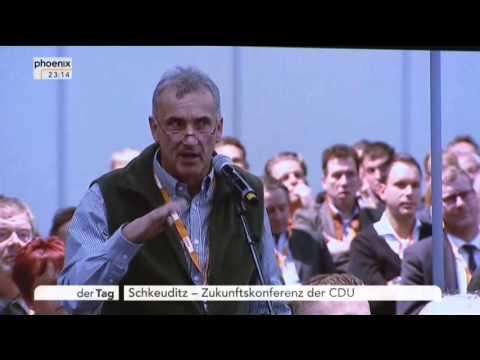 14 10 2015 CDU Mitglieder mit Vorwürfen an Angela Merkel