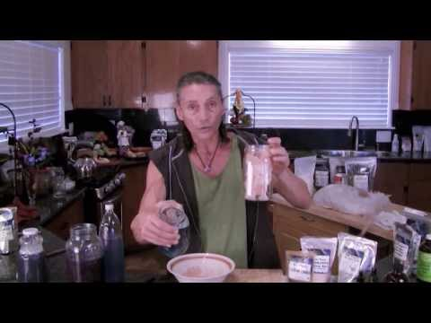 How to make Sole Salt 'Prism Super Mineral Liquid Salt' with BLUE GREEN ALGAE I Dr Robert Cassar