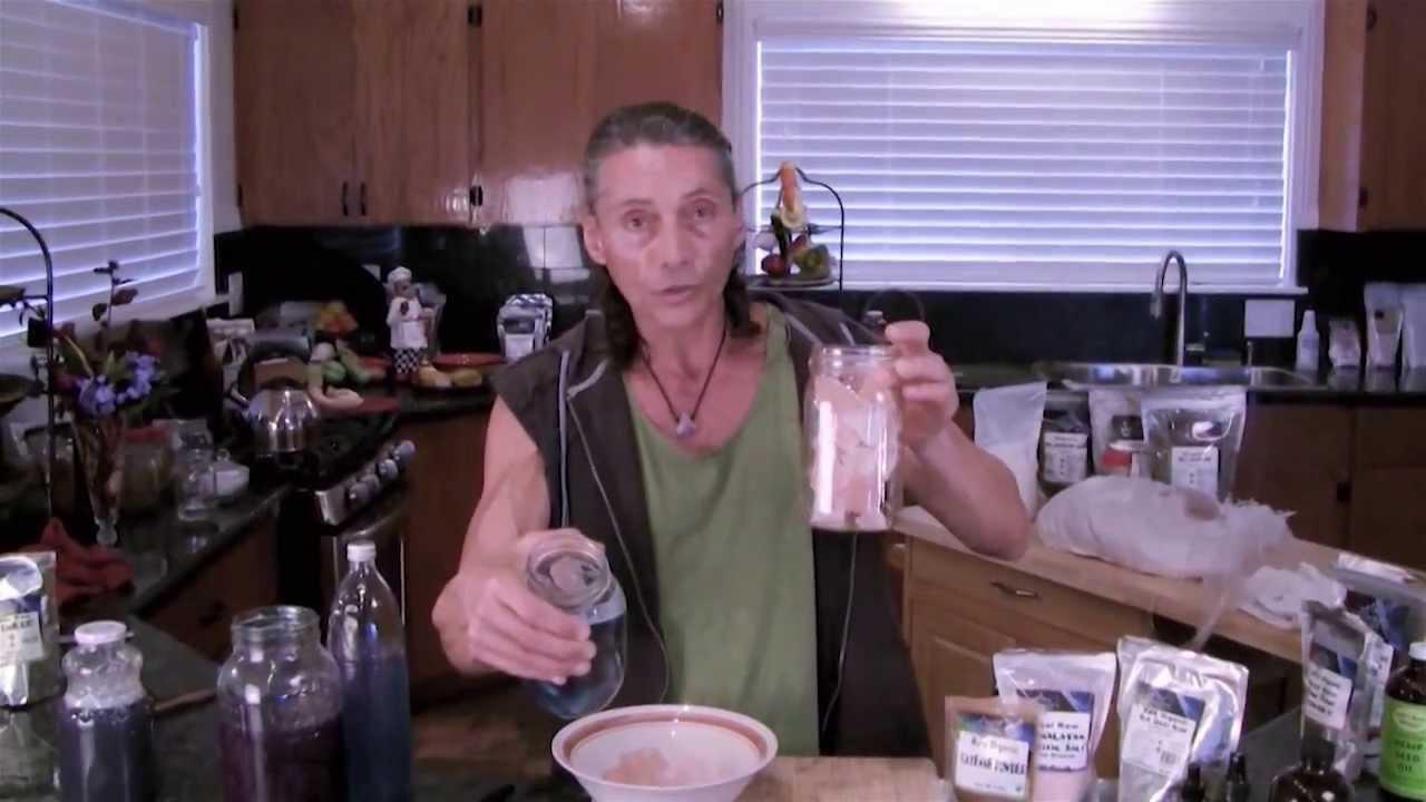 how to make liquid salt