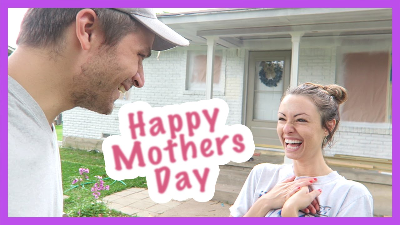 SELFLESS MOTHER'S DAY GIFT TO WIFE! - YouTube