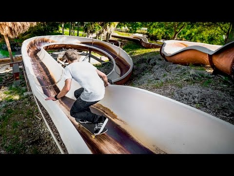 SKATING ABANDONED WATER PARK