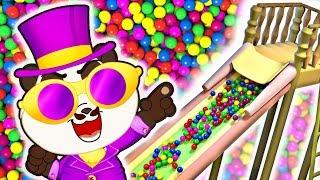 Ball Pit Show Song   Panda Bo Nursery Rhymes & Kids Songs