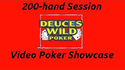 Deuces Wild (DW44) Session | Video Poker Showcase