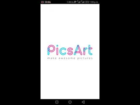 How to make your photos HD using picsart.