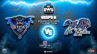 El Campeón SKY juega de nuevo HOY! Torneo EWU Fase de Grupos  | Clash of Clans