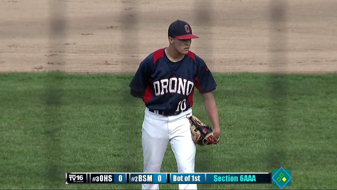 #3 Orono vs #2 BSM Baseball Section 6AAA Semi Final 5/30 ...