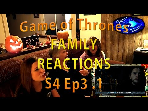 Game Of Thrones FAMILY REACT S4 Ep3 .1