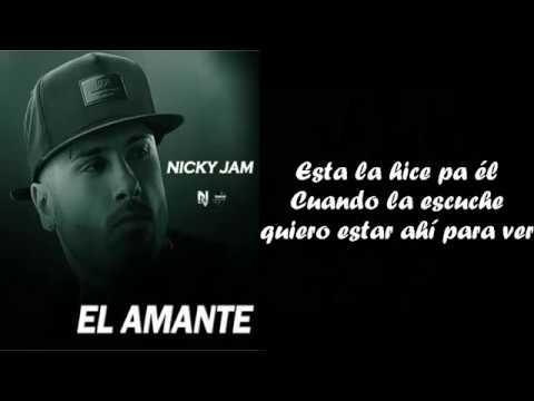 El Amante - NICKY JAM (Version Balada) video oficial con LETRA | cover _ Johann Vera