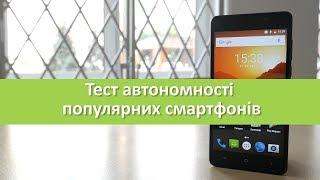 Порівняння автономності ImSmart С551 з популярними смартфонами