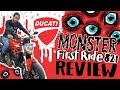 DUCATI MONSTER 821 || FIRST RIDE REVIEW ||LONG TERM COSTS || ROXAS RIDES