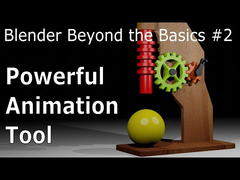 Blender Beyond Basics #2: Powerful Animation Tool - Blender Tutorial thumbnail