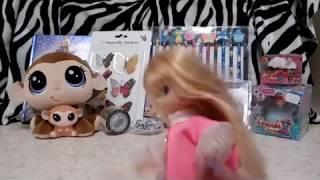 Öppnar nya leksaker, lps, pyssel, cupcake prinsessa, och massa annat