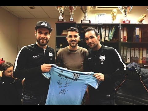 United Sports at 1st David Villa Clinic in Valencia
