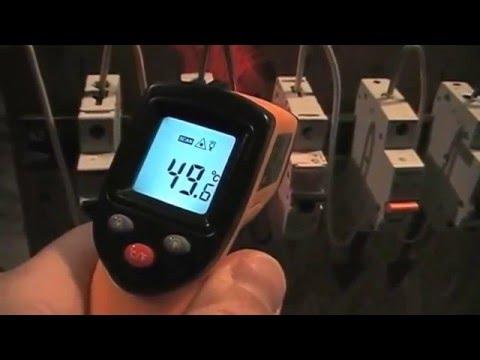 Испытание автоматов 2 (тепловой расцепитель)