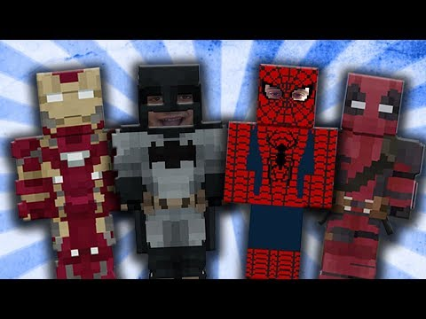 SUPERHEROES MOD | MINECRAFT