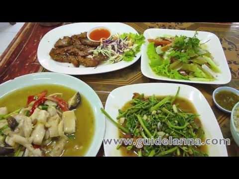 ร้านอาหารแนะนำ ข้าวต้มกลางเวียง ถนนคนเดินเชียงใหม่ Khangvieng Restaurant