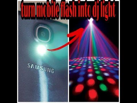 Turn Flashlight Into Dj Light
