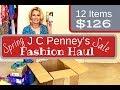 HUGE JC Penney's Fashion Haul || Spring Sales