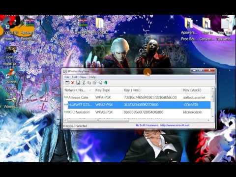 wirelesskeyview v1.34 gratuit