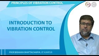 Introduction to Vibration control