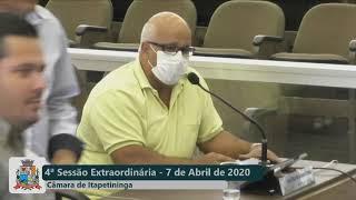 04ª Sessão Extraordinária 07 04 2020