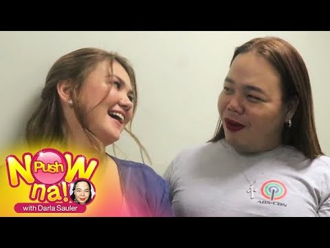Push Now Na Exclusive: Chikahan With Angelica Panganiban