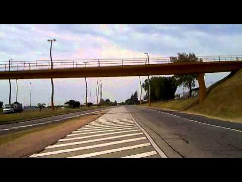 Uruguay recorrido ruta 1 hacia Montevideo