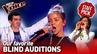 Our favorite Blind Auditions of The Voice | Top 10