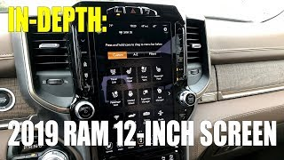 In-Depth: 2019 Ram 12-inch infotainment screen - Is it worth it?