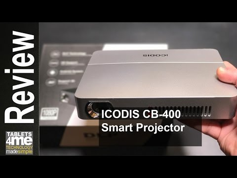 3000 Lumens Portable & Bright Android Smart Projector from ICODIS CB-400 tested with Nintendo Switch