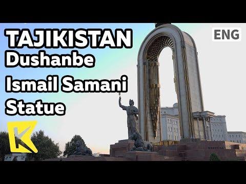 【K】Tajikistan Travel-Dushanbe[타지키스탄 여행-두샨베]이스마일 사마니 동상/Dushanbe/Monday/Market/Ismail Samani/Statue