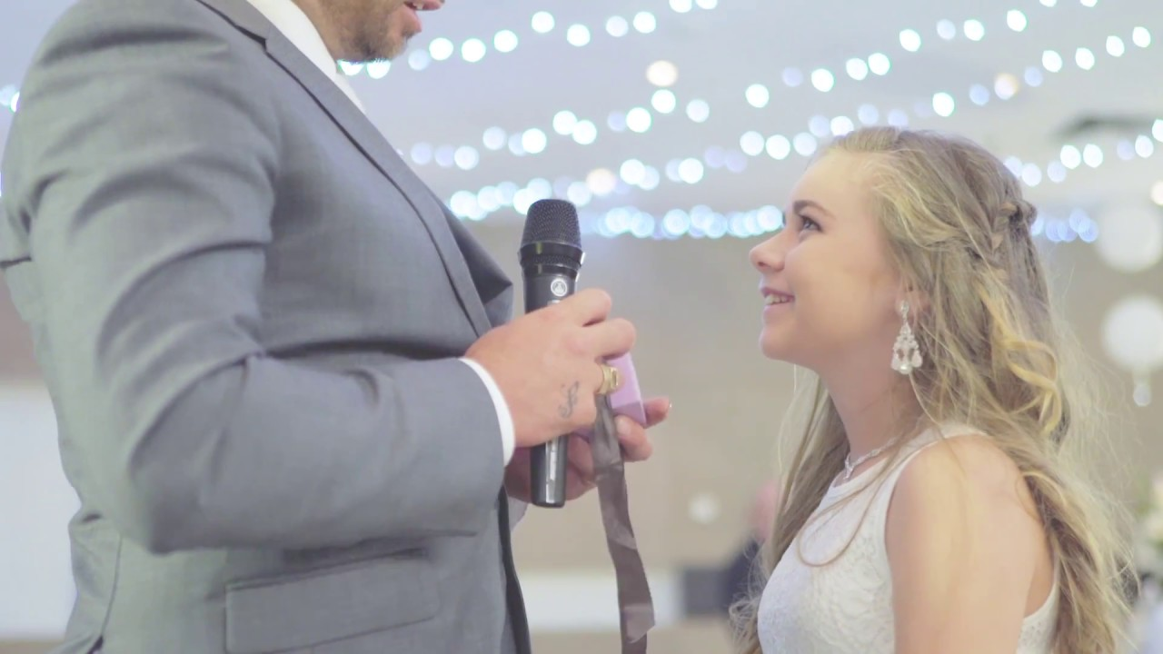 Grab the tissues.... Groom asks step daughter(娘) to be her daddy forever