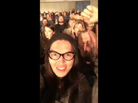 Наталья Бантеева в Periscope 15.11.2016 - Наргиз, ведьмы в Питере