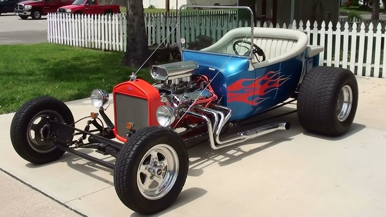 1923 Ford T-bucket Hot Rod - YouTube