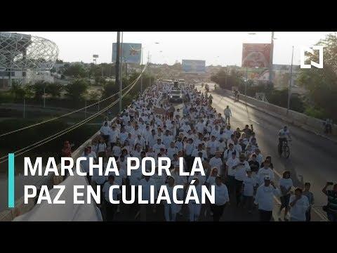 Marcha por la paz: En Culiacán piden no más violencia - Despierta