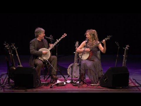 Banjo duo Béla Fleck and Abigail Washburn