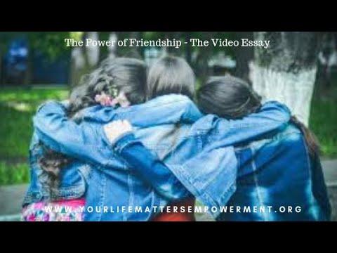 power of friendship essay