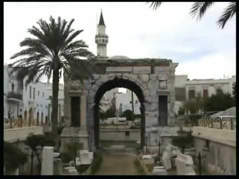 The old town of Tripoli (Libya)